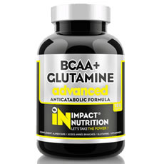 BCAA + Glut@mine advanced Impact Nutrition