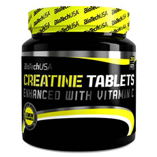 Creatine Tablets Biotech USA