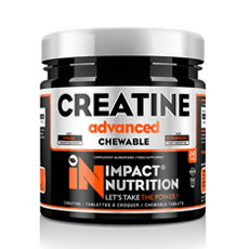 Creatine chewable Impact Nutrition