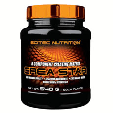 Crea Star Scitec Nutrition