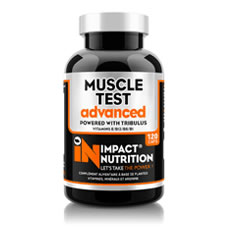 Muscle Test Advanced Impact Nutrition