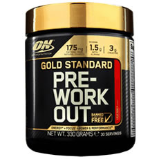 Gold Standard Pre Workout Optimum Nutrition