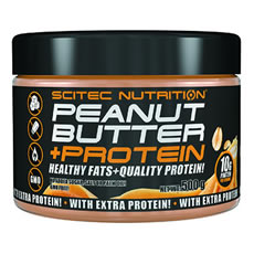 Peanut Butter + Protein Scitec Nutrition