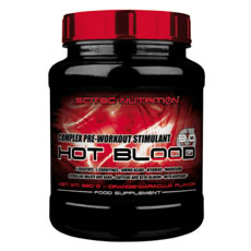 Hot Blood 300 g ou 820 g Scitec Nutrition