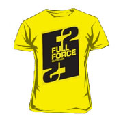 Scitec Tee-shirt Full Force Yellow