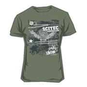 Scitec Tee-shirt Made of Iron Green