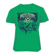 Scitec Tee-shirt Muscle Machine Green
