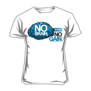 Scitec Tee-shirt No Brain No Gain